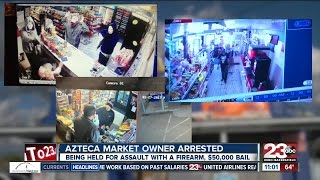 Azteca Market owner arrested for shooting man trying to steal from him