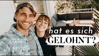 Unser Balkon - sind wir zufrieden? | MANDA Vlog