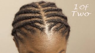 TWO BEST BRAIDING PATTERNS FOR CROCHET BOX BRAIDS, TWISTS & LOCS | FOR MIDDLE AND SIDE PART