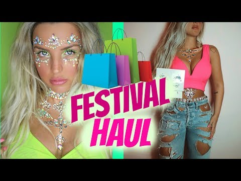 Huge Festival Clothing Haul, Coachella, StageCoach, Bonnarroo