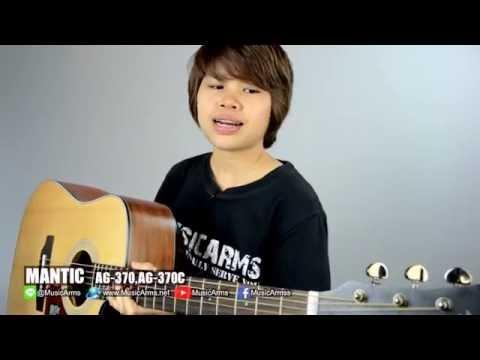 Đàn Guitar Acoustic Mantic AG370