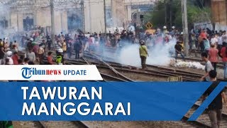 Kronologi Tawuran di Manggarai, Polisi Tembakkan Gas Air Mata