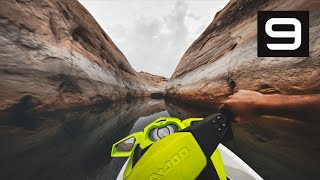 GoPro HERO9 Max Lens Mod  Pod Racing Canyon Run