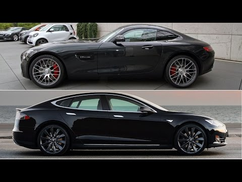 Tesla Model S P85d Races Amg Gt With Surprising Results