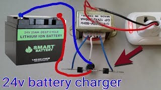 How to make a battery charger at home - DIY