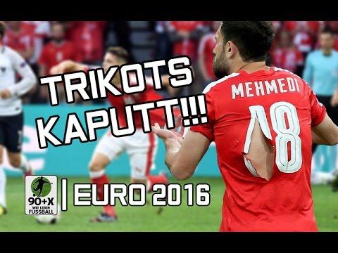 Schweiz-Trikots zerrissen!  Irland Fans singen für Polizei!   EM News 20.6.16