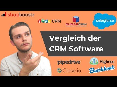 CRM Software: Vergleich der besten CRM Systeme in 2019