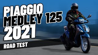 2021 Piaggio Medley 125cc | Road Test and Full Review!
