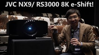 JVC NX9/ RS3000 8K e-Shift Projector 1st Look: HDR Auto Tone-Mapping is Ace!