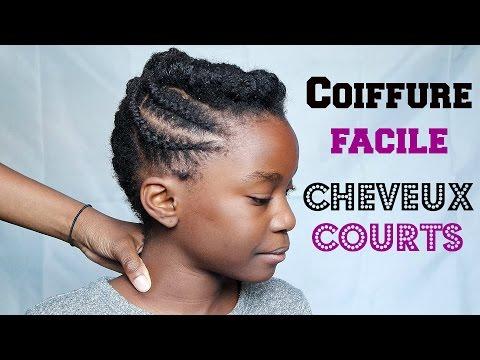 coiffure facile pour cheveux afro courts longs cheveux. Black Bedroom Furniture Sets. Home Design Ideas