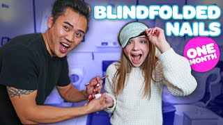 Nail Tech Controls My Acrylic Nails BLINDFOLDED *30 DAY CHALLENGE*💅🏼| Piper Rockelle