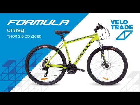 "Велосипед 29"" Formula THOR 2.0 AM DD 2019: video"