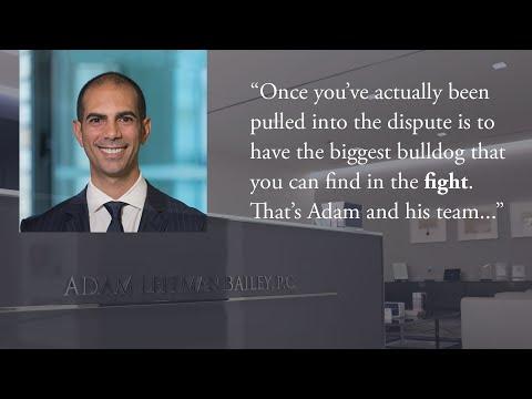 Adam America's General Counsel Discusses Adam Leitman Bailey testimonial video thumbnail