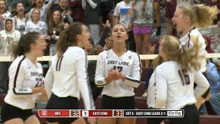 Volleyball highlights: East Lyme 3, NFA 1