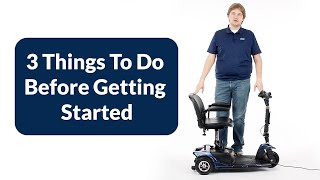 3-Wheel Mobility Scooter - Helpful Tips Before Getting Started