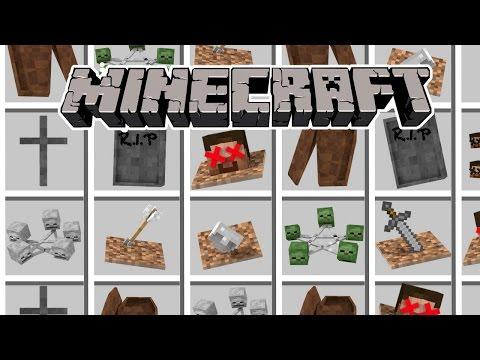 Minecraft | WHERE DO THE DEAD GO? Gravestone Mod (Ritual, Tomb, Zombies)