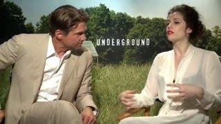 "WGN America''s ""Underground""  stars Marc Blucas and Jessica De Gouw"