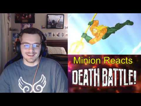 Death Battle: Aquaman vs Namor Reaction/Thoughts- Minion Reacts