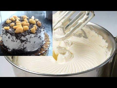 como fazer Recheio de leite ninho |+ Dica para bater o chantili|PRETONACOZINHA