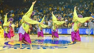 Bhangra Empire @ NBA Halftime Show (Warriors vs. Jazz) 2016