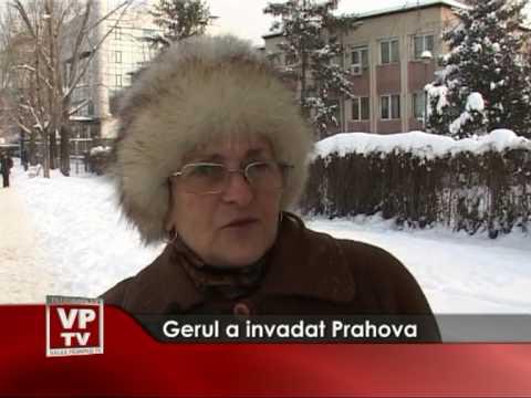 Gerul a invadat Prahova