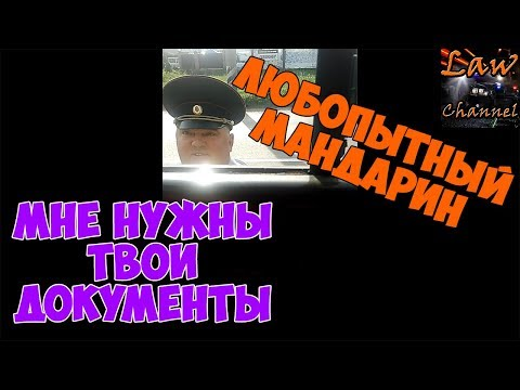 Любопытный ИДПС Мандарин - Мне нужны ТВОИ документы ГИБДД Тольятти (От Студента!)