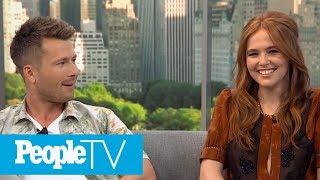'Set It Up' Co-Stars Zoey Deutch And Glen Powell Playfully Deny Dating | PeopleTV - dooclip.me