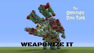 The ghast missile tutorial minecraft slime block mob missileps weaponize it omnitops dino tank tutorial weaponized slime block dinosaur robot ccuart Image collections