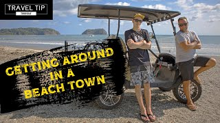Getting Around in a Beach Town - 🇨🇷 Costa Rica - How to Travel Costa Rica