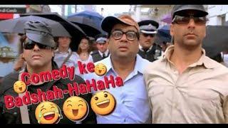 Akshay Kumar- Govinda-Rajpal Yadav aur Paresh Rawal-Bhagam Bhag  comdiy ||Comedy Ka Badshah hahaha||