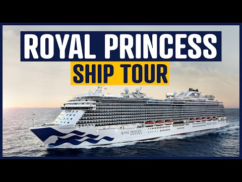 Royal Princess Cruise Ship and Cabin Tour