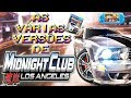 Todas As Vers es De Midnight Club Los Angeles curiosida