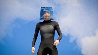 bucket hat wetsuit gaming