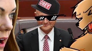 Australian Senate Showdown! Sarah Hanson-Young Vs David Leyonhjelm