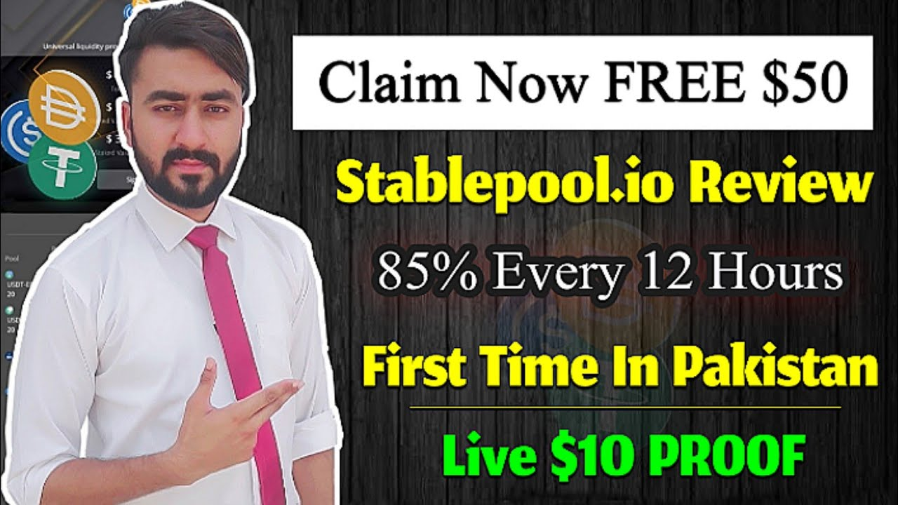 stablepool.io New Online Earning Site Evaluation & Payment Evidence|Generate Income Online thumbnail