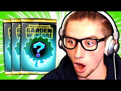 I FINALLY GOT IT! (Garden Warfare Pack Opening)