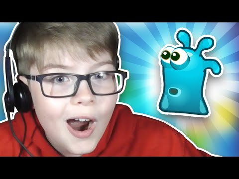 I'M A LITTLE SLIMY GUY!!! Free Online Games #1