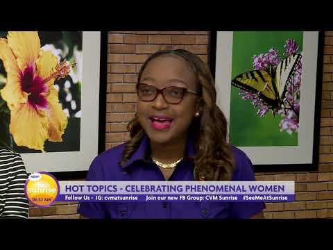 CVM Television: CVM At Sunrise - International Women's Day - March 8, 2019.