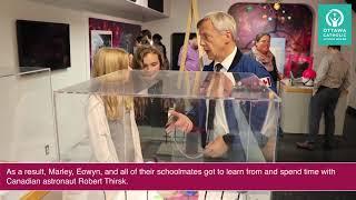 Little Inventors Meet Canadian Astronaut Robert Thirsk
