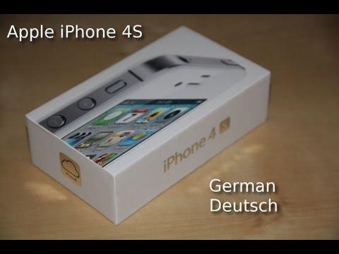 Apple iPhone 4S Review in HD (Deutsch / German)