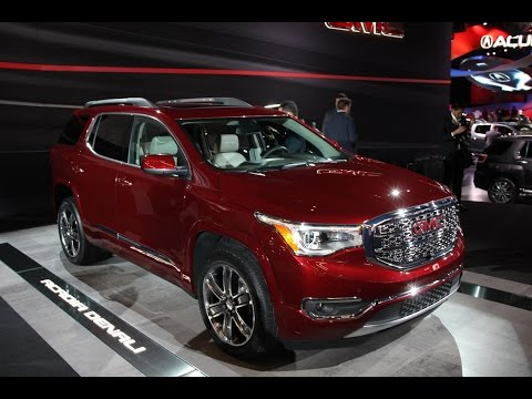 2017 GMC Acadia - 2016 Detroit Auto Show