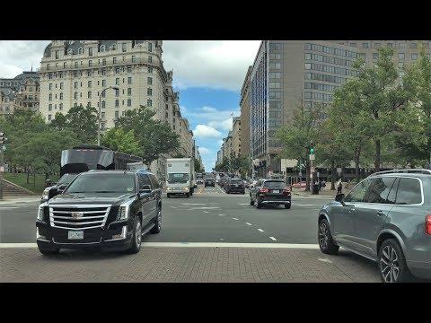 Drive 4K - Washington DC - USA
