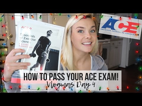 HOW TO PASS YOUR ACE PERSONAL TRAINING EXAM ...