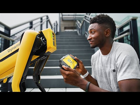 Dope Tech: Boston Dynamics Spot Robot!