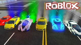 Yeni Arabam ve Ekibin Arabalar ile ! Roblox Vehicle Simulator