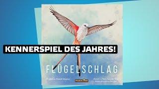 Flügelschlag // Kennerspiel des Jahres 2019 // Brettspiel - Erklärvideo