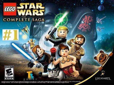 Vidéo LEGO Jeux vidéo MACSWLSC : Lego Star Wars : la saga complète MAC