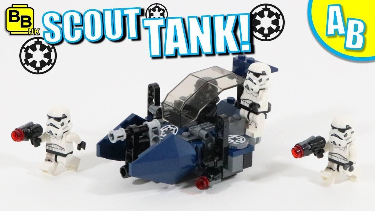 LEGO IMPERIAL SCOUT TANK 75262 ALTERNATIVE BUILD