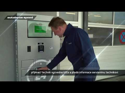 KEY BOX Autolaros - bezkontaktní předání vozu do servisu