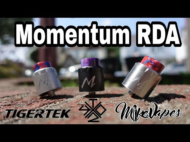 Momentum RDA By TigerTek & VapingWithTwisted419 - Build & Wick